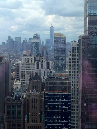 Hyatt Centric Times Square New York: View from my room on the 42nd floor!