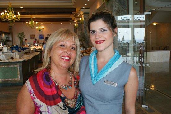 Atrium Prestige Thalasso Spa Resort & Villas : Toujours un très bon accueil au restaurant