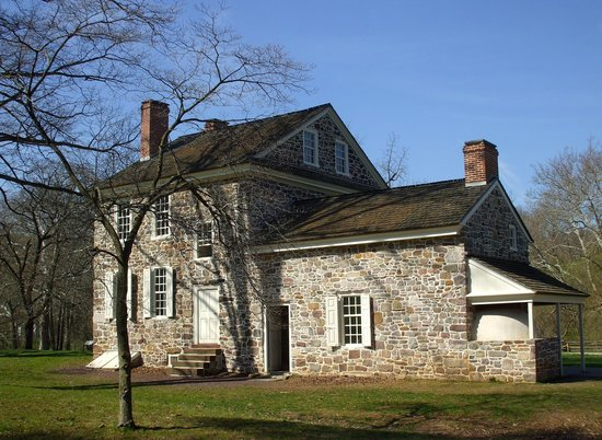 Valley Forge National Historical Park: A fascinating vehicle passing the station