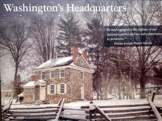 Valley Forge National Historical Park: GW's Headquarters in spring