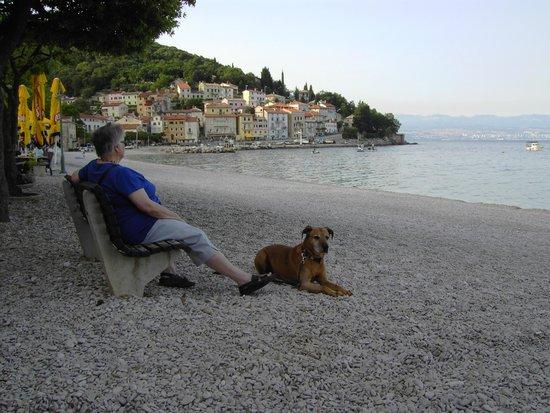 Remisens Hotel Marina : direkte Nähe zum Strand und Promenade