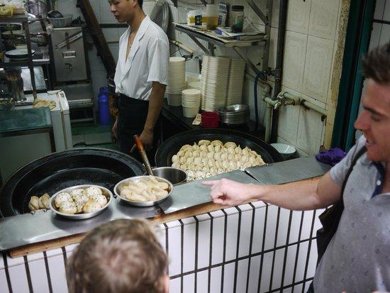 UnTour Shanghai Food Tours: Tasty dumplings.