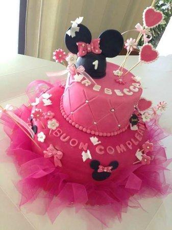 Torta Compleanno Minnie   Disney   Pasticceria Puccinelli