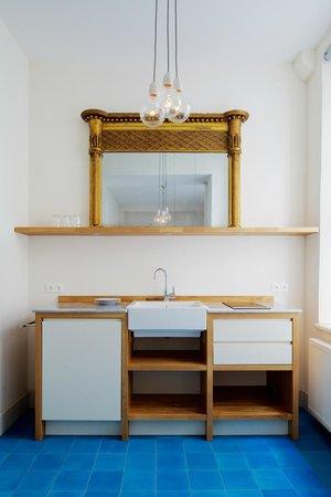 Hotel Fregehaus: Appartement - Wohnküche