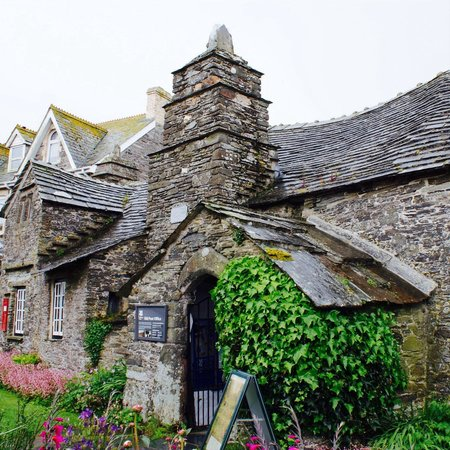 Little garden - Picture of The Old Post Office, Tintagel - TripAdvisor