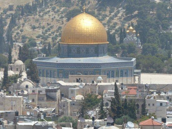 Das moslemische Viertel: Temple Mount