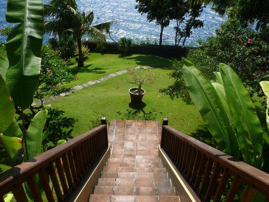 Villa Aquamarine : Вид с виллы