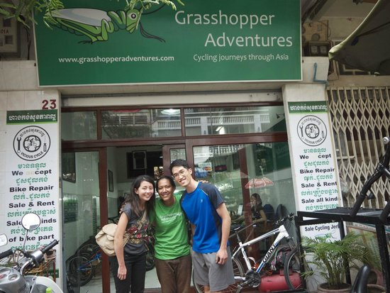Grasshopper Adventures Day Tours by Bicycle: Where it all began