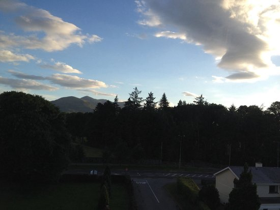 The Brehon : View from our room
