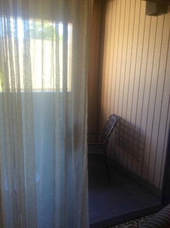 Best Western Plus Inn At The Vines: Private little balcony