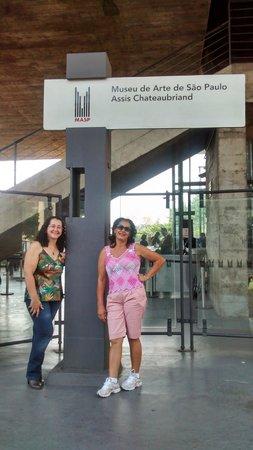 Museu de Arte de Sao Paulo Assis Chateaubriand - MASP: Entrada