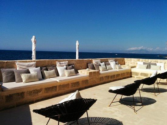 la terrazza sul mare - Foto di Cas\'almare, Isola di Favignana ...