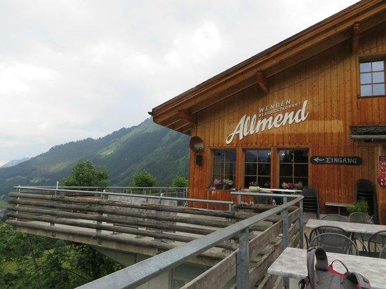 Restaurant Allmend: View from outside of restaurant
