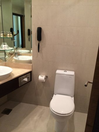 Copthorne King's Hotel Singapore: toilet