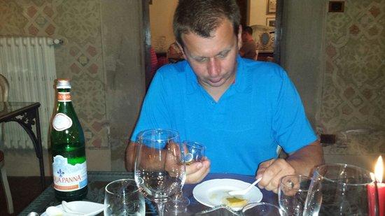 Villa Campestri Olive Oil Resort : Olive oil tasting