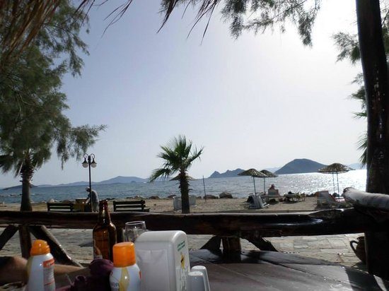 Anatolian Restaurant: The view from the front tables