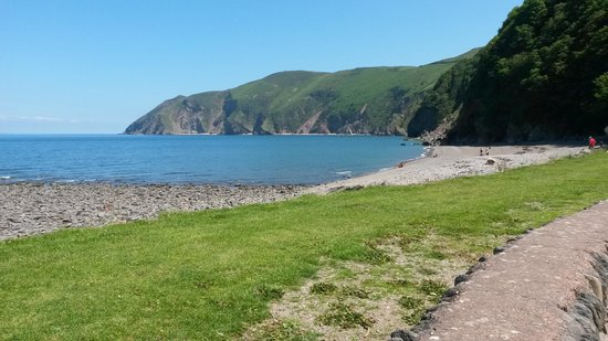 Lynton Cottage Hotel: Lynmouth Bay