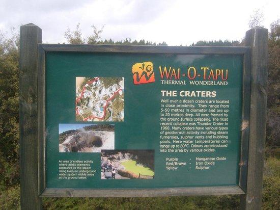 how to get to wai o tapu from rotorua
