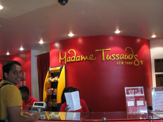 Madame Tussauds New York : coffe shop