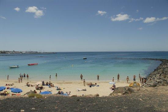 H10 Tindaya Hotel: Spiaggia Lanzarote: playa bianca