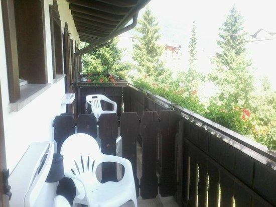 Hotel Nordik: balcone camera con bellissima vista