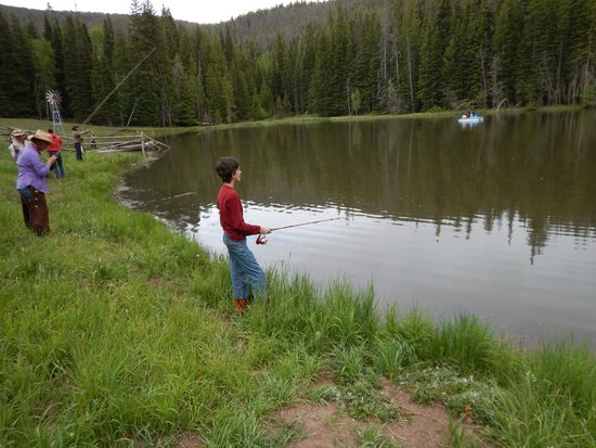 Black Mountain Ranch: John's Pond fishing