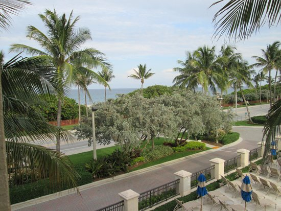 Delray Beach Marriott : Limited view