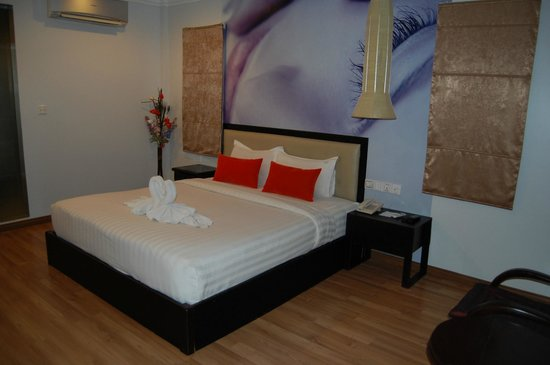 King Grand Boutique Hotel: Zimmer