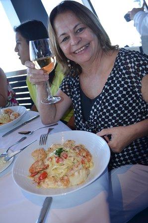 Stratosphere Hotel, Casino and Tower, BW Premier Collection: Um delícioso camarão no almoço da torre