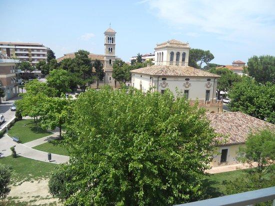 Hotel Jollino: vista dalla camera, 3° piano