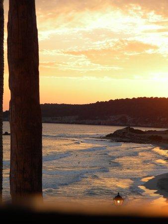 Sol Beach House Menorca: Sun set from the balcony