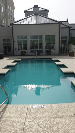 Hilton Garden Inn Pascagoula: Beautiful pool