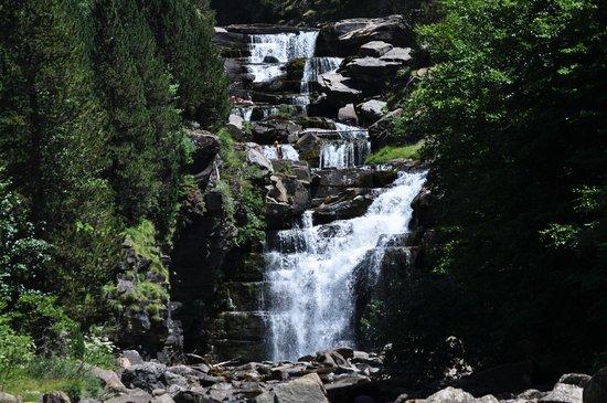 Parque Nacional de Ordesa: één van de vele watervallen