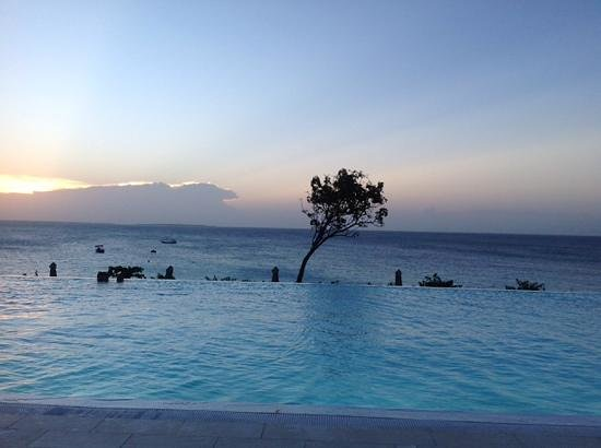 Hideaway of Nungwi Resort & Spa: a view from the pool deck