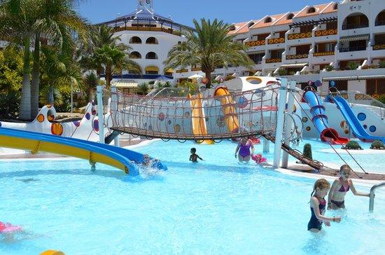 Parque Santiago III: мини аквапарк