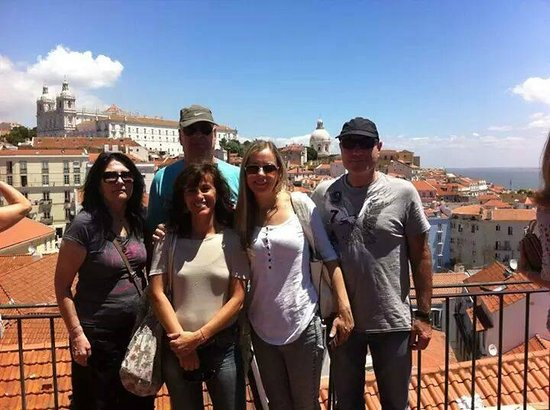 Diversity Tours : Nice people from Israel in St. Luzia, Lisbon