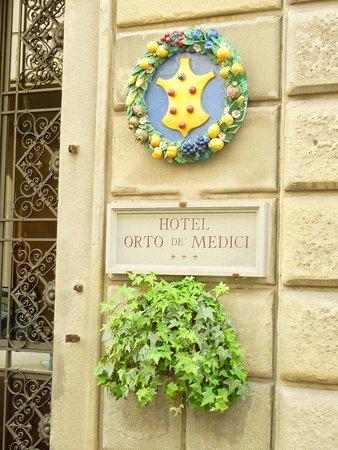 Hotel Orto De Medici : Facade/front door