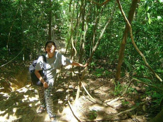 Tasek Lama Recreational Park : On the Jungle Trail at Tasek Lama