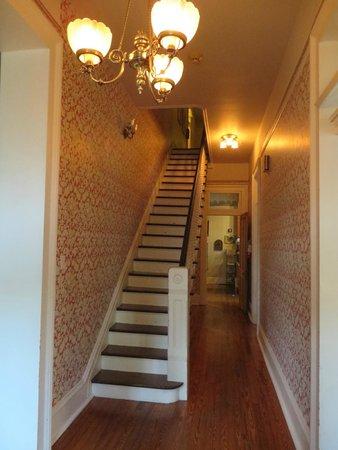 Maison Perrier: front Hallway