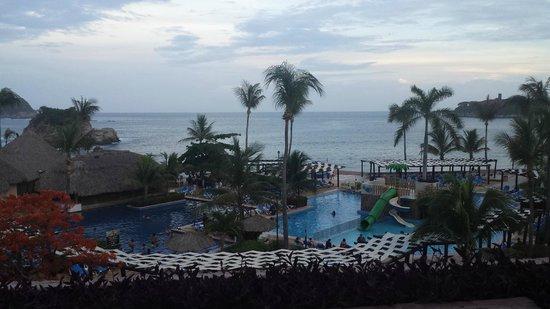 Barcelo Huatulco: Vista desde Habitacion