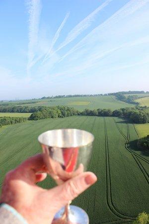 Virgin Balloon Flights: A toast to an amazing flight