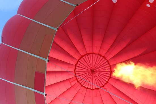Virgin Balloon Flights: and for some hot air