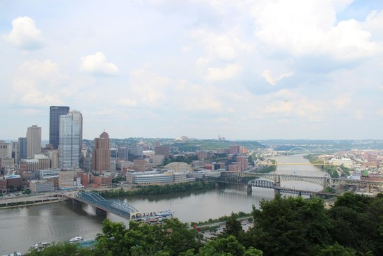 View of Downtown Pittsburgh at Monongahela Incline