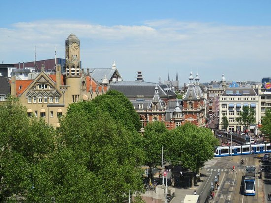 Amsterdam Marriott Hotel: view from our room