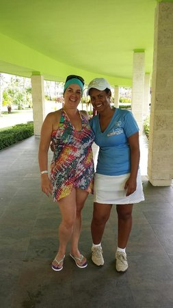 Barcelo Bavaro Palace : Dana we love her