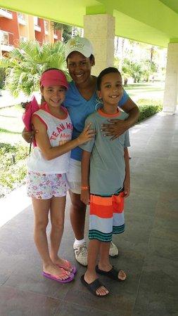 Barcelo Bavaro Palace : Dia de su despedida en el kids club