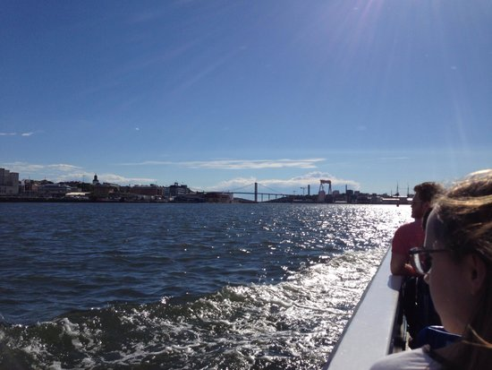 Stromma - The Paddan Tour: View from boat