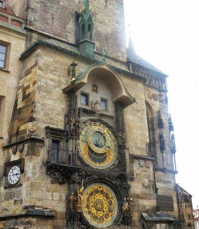 Grand Hotel Bohemia: Astronomical clock