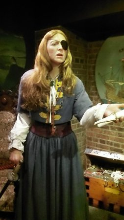 The National Wax Museum Plus : A pirate queen from Irish myth.