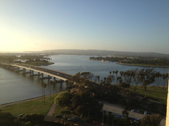 Hyatt Regency Mission Bay: View from the balcony of our room